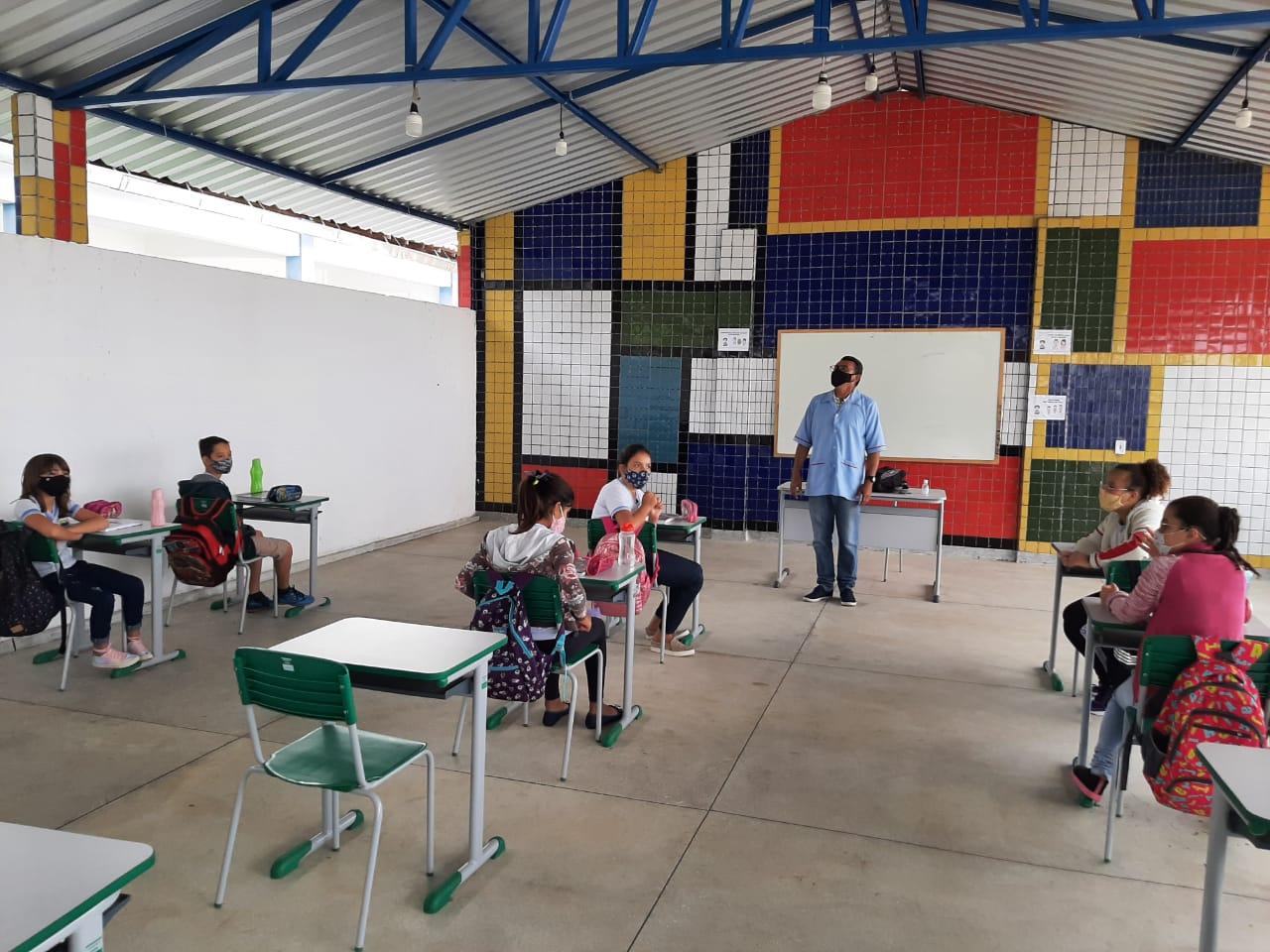 Rede Municipal de Ensino de Cabaceiras retorna as aulas presenciais