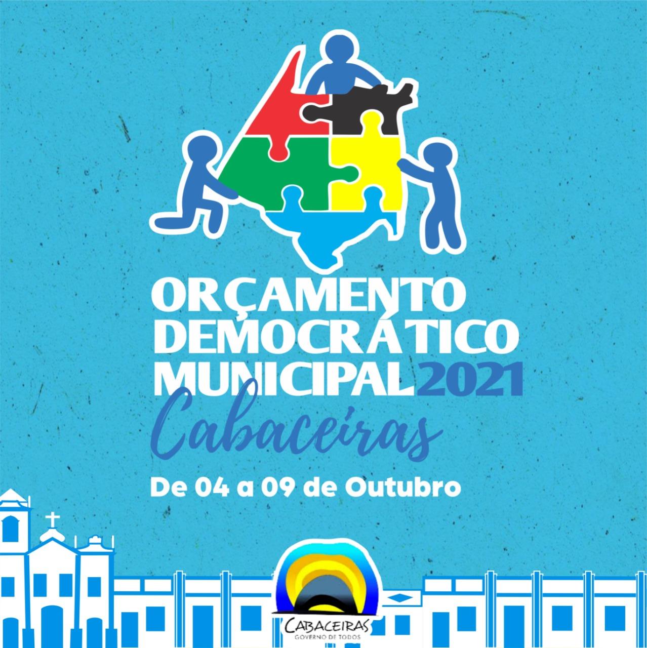 Prefeitura de Cabaceiras realizará Orçamento Democrático 2021